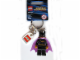 Gear No: 851005  Name: Batgirl Key Chain with Lego Logo Tile, Modified 3 x 2 Curved with Hole
