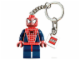 Gear No: 851027  Name: Spider-Man Key Chain with 2 x 2 Square Lego Logo Tile