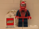 Gear No: 851027a  Name: Spider-Man Key Chain with Lego Logo Tile, Modified 3 x 2 Curved with Hole