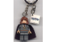 Gear No: 851031  Name: Hermione, Dark Bluish Gray Torso w/ Necklace, Dark Bluish Gray Legs with Black Cape Key Chain with 2 x 2 Tile with Harry Potter Logo