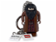 Gear No: 851032  Name: Hagrid Key Chain with 2 x 2 Square Lego Logo Tile and 2 x 2 Tile with Harry Potter Logo