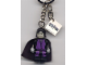 Gear No: 851034  Name: Snape Key Chain with 2 x 2 Tile with Harry Potter Logo