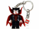 Gear No: 851035  Name: Vampire Key Chain with 2 x 2 Square Lego Logo Tile