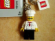 Gear No: 851039  Name: Chef Key Chain with 2 x 2 Square Lego Logo Tile