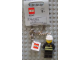 Gear No: 851042  Name: Fireman World City Key Chain with 2 x 2 Square Lego Logo Tile