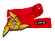 Gear No: 851338  Name: Weapon, Ninja Throwing Star (Shuriken) and Belt
