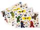 Gear No: 851348  Name: Sticker Sheet, Ninjago Wall Stickers