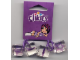 Gear No: 851460  Name: Hair Tie, Clikits - Purple with Star Icons