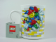 Gear No: 851639  Name: Food - Cup / Mug, Construction Worker bursting through Brick Wall Pattern