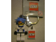 Gear No: 851818  Name: Hikaru Key Chain with Lego Logo Tile, Modified 3 x 2 Curved with Hole