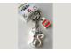 Gear No: 851883  Name: Clikits White Cat Key Chain