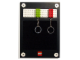 Gear No: 851908  Name: Key Rack (with Lime and Red Brick Key Chains)