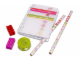 Gear No: 851910  Name: Stationery Set, Classic Stripes Pink