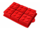 Gear No: 851915  Name: Food - LEGO Brick Cake/Jelly Mould (Cake/Gelatin Mold)