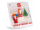 Gear No: 852119  Name: Magnet Set, Santa Magnet Set (Holiday Magnet Set) blister pack