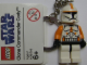Gear No: 852355  Name: Clone Commander Cody Key Chain