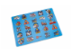Gear No: 852516  Name: Food - Placemat City Pattern