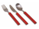 Gear No: 852525  Name: Food - Cutlery Set, Children's Lego Cutlery, Silicone Studs