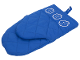 Gear No: 852531  Name: Food - Oven Mitt, Minifigure Heads Pattern