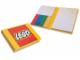 Gear No: 852689  Name: Sticky Notes, LEGO Brick