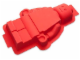 Gear No: 852708  Name: Food - Minifigure Cake Mold, Red
