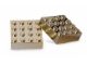 Gear No: 852745  Name: Magnet Set, Bricks 4 x 4 Chrome Gold