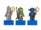 Gear No: 852777  Name: Magnet Set, Minifigures Atlantis (3) - Lance Spears, Manta Warrior, Shark Warrior blister pack