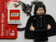 Gear No: 852980  Name: Snape Key Chain with Lego Logo Tile, Modified 3 x 2 Curved with Hole