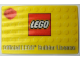 Gear No: 852998lic  Name: Official LEGO Builder License, Lenticular Card