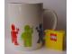 Gear No: 853132  Name: Food - Cup / Mug, Minifigures Pattern