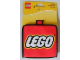 Gear No: 853147  Name: Wallet, Lego Logo - Red Square