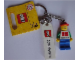 Gear No: 853305  Name: Minifigure Male with Danish Flag and Key Chain with Lego Logo Tile, Modified 3 x 2 Curved and Tile 2 x 4 with 'COPENHAGEN' Pattern