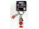 Gear No: 853433  Name: Wonder Woman Key Chain with Lego Logo Tile, Modified 3 x 2 Curved with Hole