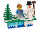 Gear No: 853663  Name: Magnet Set, LEGO Iconic Holiday Magnet (6194791)