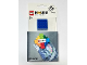 Gear No: 854015  Name: Magnet Flat, LEGO House blister pack
