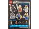 Gear No: 88575  Name: Sticker Sheet, Star Wars 20th Anniversary Minifigures Sheet (Walmart Promotional)