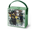 Gear No: 887988010418  Name: Lunch Box, The LEGO Ninjago Movie with Handle, Sand Green