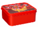 Gear No: 889695  Name: Lunch Box, Ninjago Red