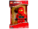 Gear No: 9003097  Name: Digital Clock, Ninjago Kai Figure Alarm Clock