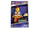 Gear No: 9003967  Name: Digital Clock, The Lego Movie 2 -  Emmet Figure Alarm Clock