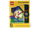 Gear No: 9005008  Name: Clock Set, Time-Teacher Minifigure Watch and Clock, Boy