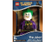 Gear No: 9007309  Name: Digital Clock, The Joker Figure Alarm Clock