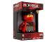 Gear No: 9009181  Name: Digital Clock, Ninjago Kai Figure Alarm Clock