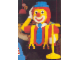 Gear No: 920438  Name: Postcard - Lego World Show - Circus Clown