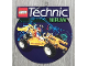 Gear No: 921490NL  Name: Display Sign Hanging, Technic Sets 8850 and 8840, Double-Sided