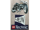 Gear No: 921713NL  Name: Display Sign Hanging, Technic 8838 Shock Cycle Two-Part, Double-Sided