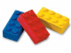 Gear No: 922213  Name: Eraser, LEGO Brick Eraser Set of 3 (Blue, Red & Yellow)