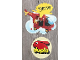 Gear No: 922472NL  Name: Display Sign Hanging, Duplo 2677 Fire Helicopter, Two-Part, Double-Sided