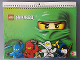 Gear No: 9783840117213  Name: Calendar, 2013 Ninjago Masters of Spinjitzu, Spiral Date Book