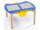 Gear No: 9810b  Name: Multi-Playtable for 4 Children (medium blue top)